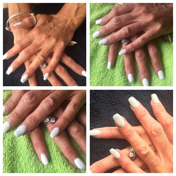 We Are Now Offering Gel Nail Extensions You Can Choose From Plain French Or Have A Coloured Shellac Overlay To Really Give Them That Wow Factor